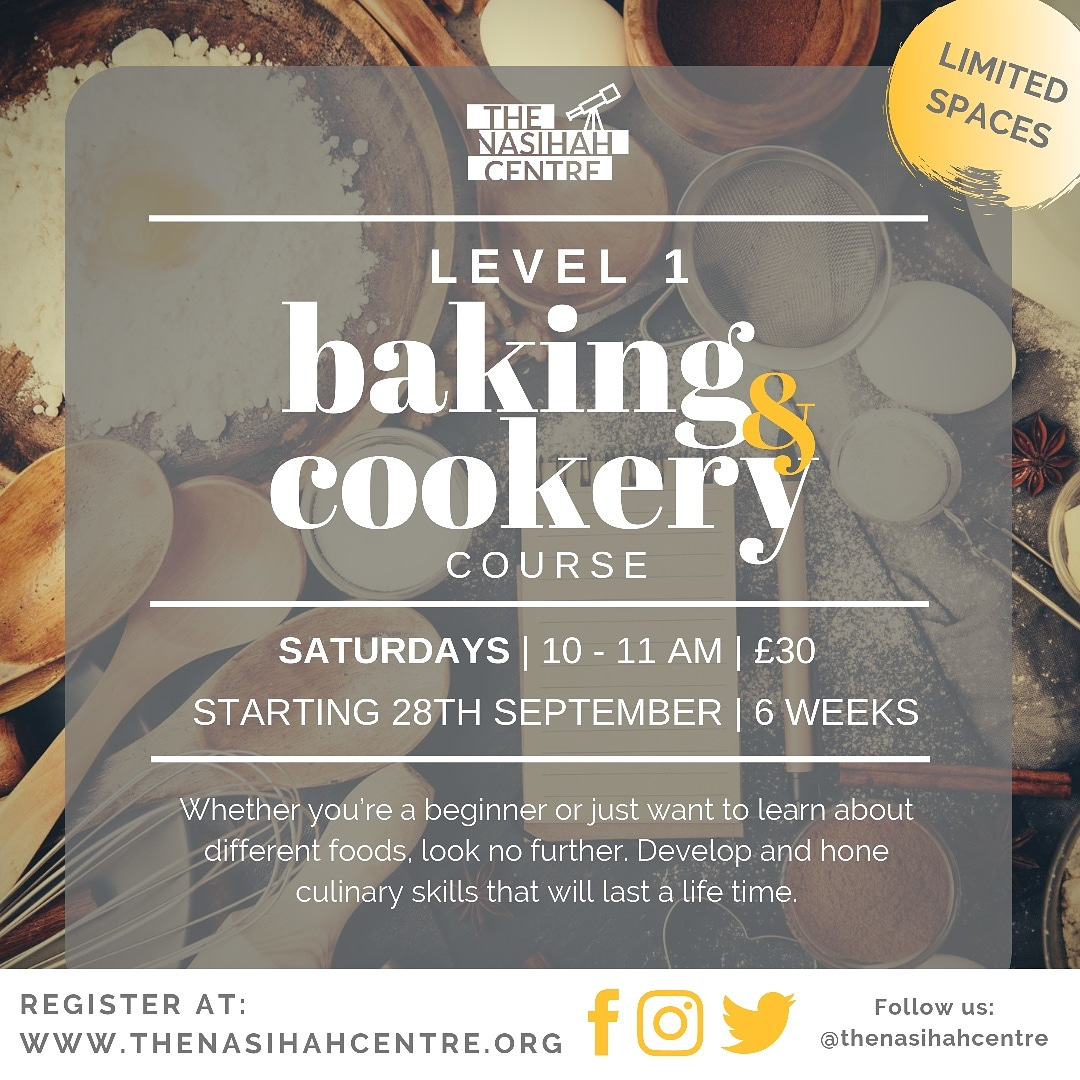 Baking & Cookery | Level 1