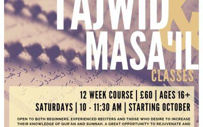 Tajwid & Masail Classes